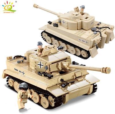 [Klemmbausteine] Tiger Tank von KAZI
