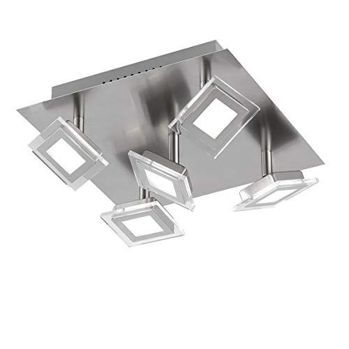 WOFI Deckenleuchte, 5-flammig, Serie Cholet, 5 x LED, 5 W