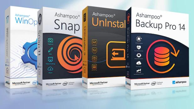 [chip.de] Ashampoo WinOptimizer 17 + Ashampoo Snap 11 + Ashampoo Uninstaller 7 + Ashampoo Backup Pro 14