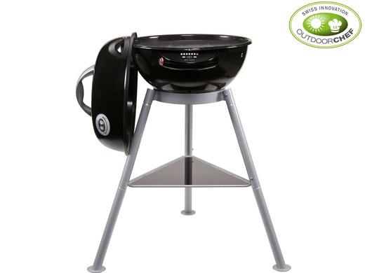 Outdoorchef Elektro-Grill Chelsea 420E (7 Heizstufen, Temperaturen bis 300 °C, Ø 420 mm)