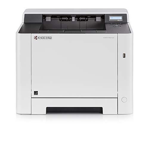 Kyocera Klimaschutz-System Ecosys P5021cdn Laserdrucker. 21 Seiten pro Minute. Farblaserdrucker inkl. Mobile-Print-Unterstützung