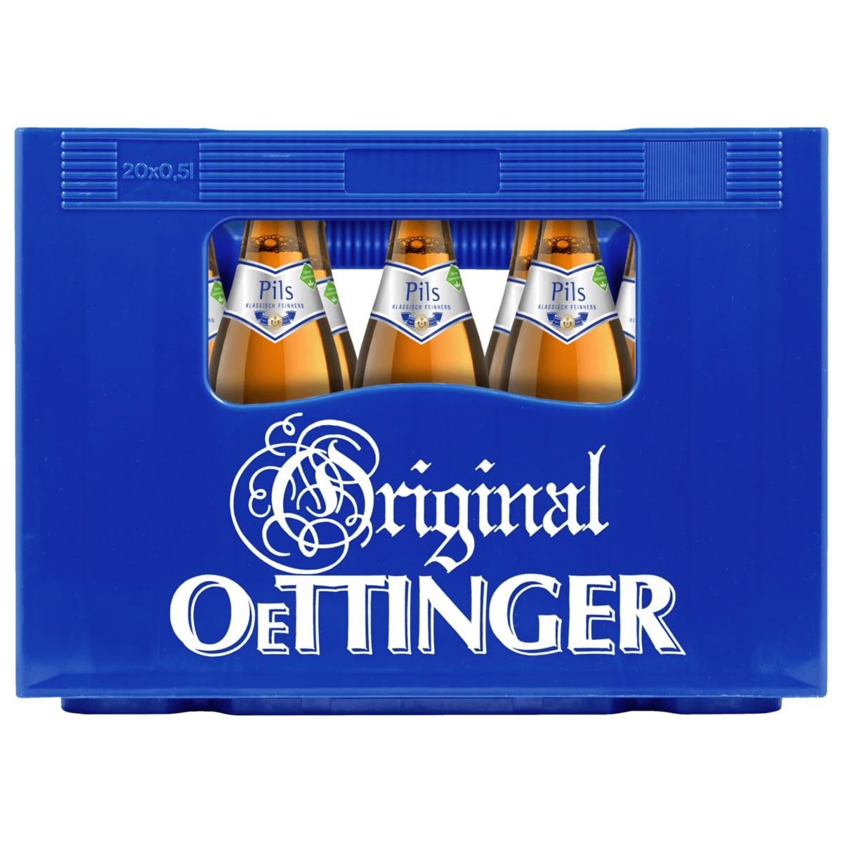 Oettinger Pils, 20 x 0,5 Liter für 4,99 Euro [Penny]