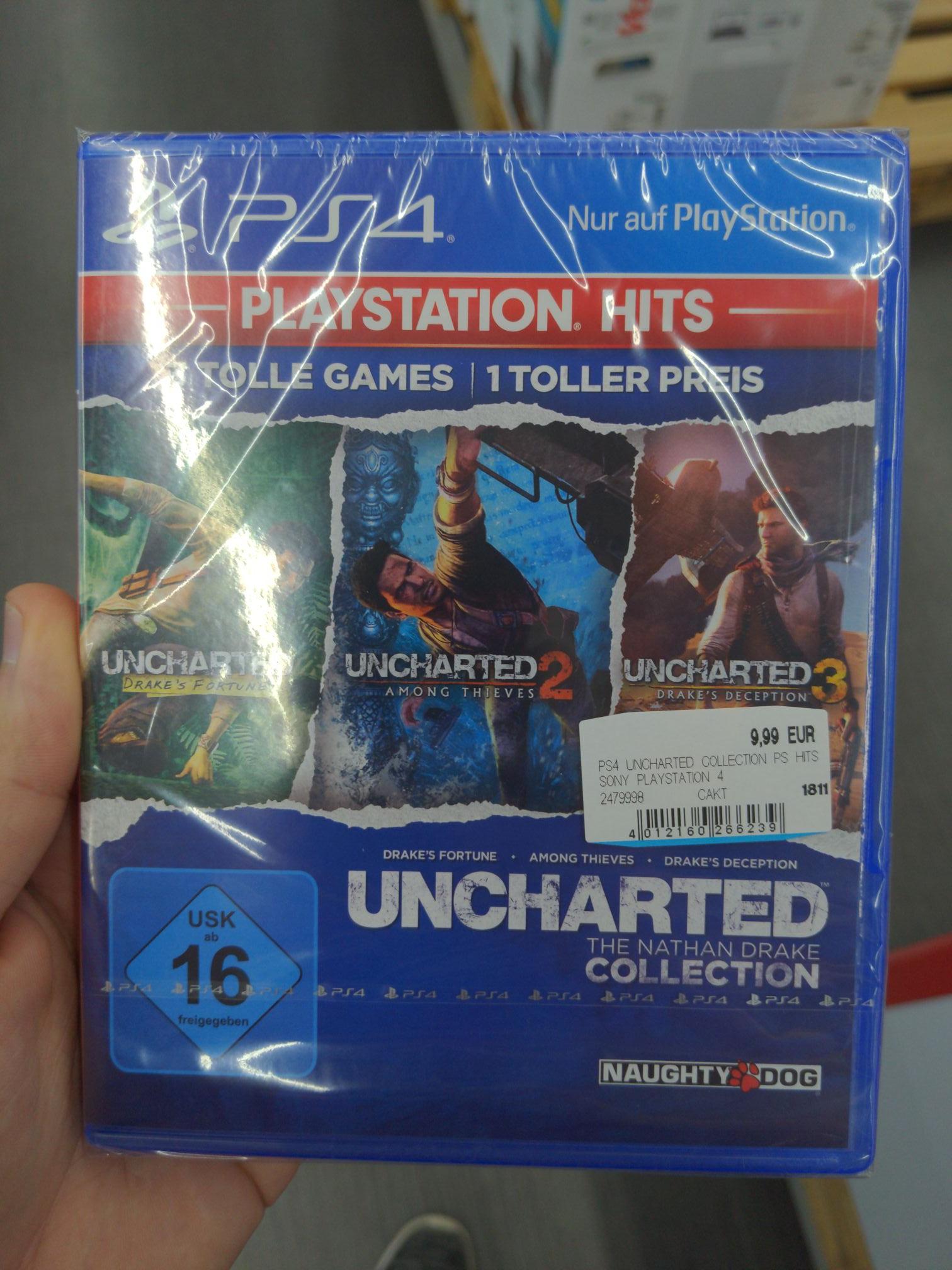 [PS4] Uncharted Collection [Mediamarkt] Abverkauf
