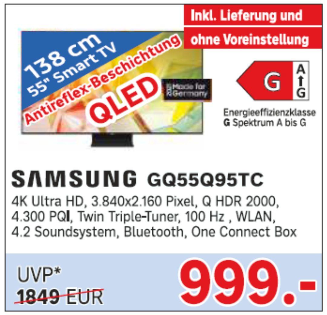 [Lokal Beltheim] Samsung Qled GQ55Q95T