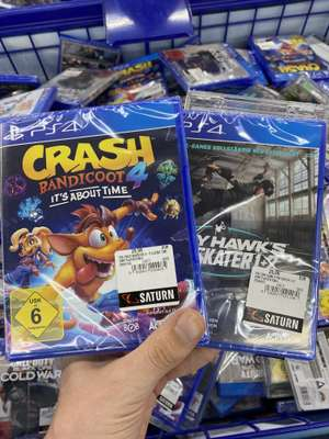 [ Lokal Saturn Oberhausen ] - Crash Bandicoot it's all about Time PS4