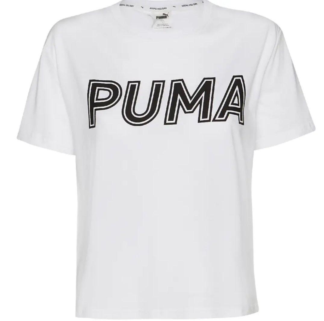 [SportSpar] Puma Modern Sports Logo Damen T-Shirt (M-L, Versch. Farben)