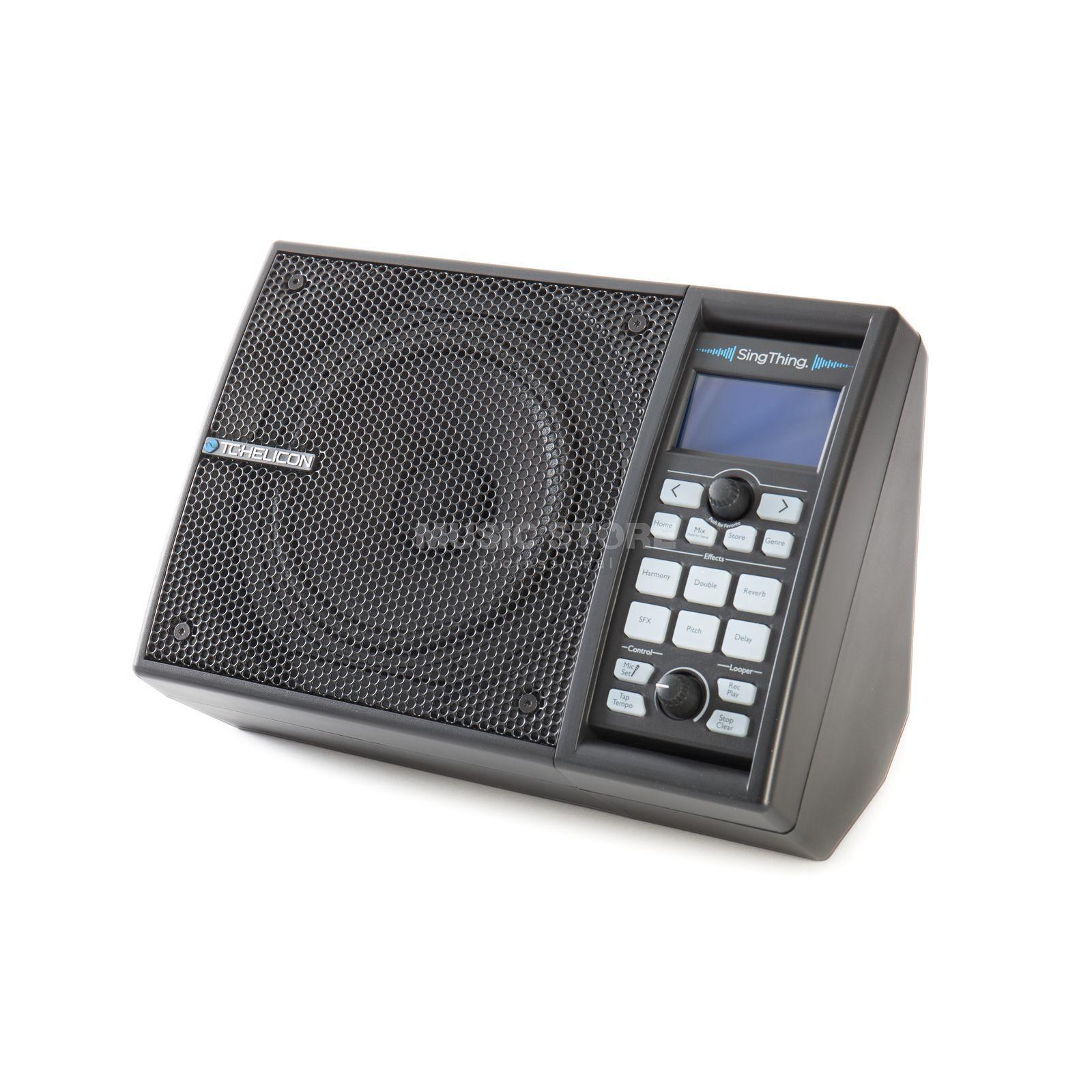 TC-Helicon SINGTHING, Vocal Prozessor mit integriertem 150 Watt Lautsprecher und integrierten Effekten und Mikrofon [Musikinstrumente]