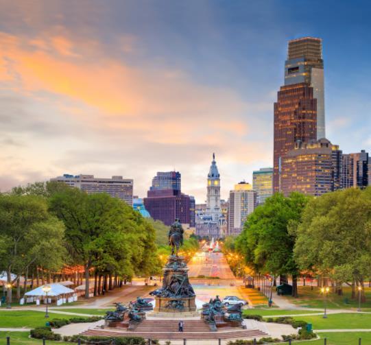Flüge: Philadelphia / USA (bis Mai 22) Hin- und Rückflug mit Delta von Amsterdam, München, Stuttgart, Berlin, Hamburg und Frankfurt ab 197€