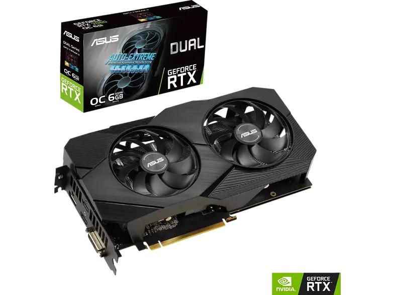 ASUS GeForce RTX 2060 Dual Evo OC 6GB dank 15% Direktabzug im Warenkorb und NL Gutschein