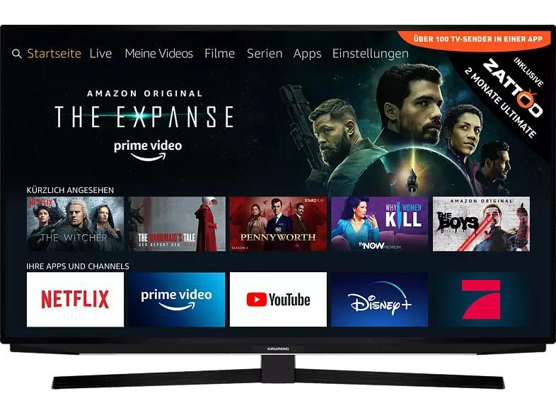 "GRUNDIG 65 GUB 7040 FIRE TV EDITION LED TV 65"" UHD 4K, SMART TV, Fire TV Experience"