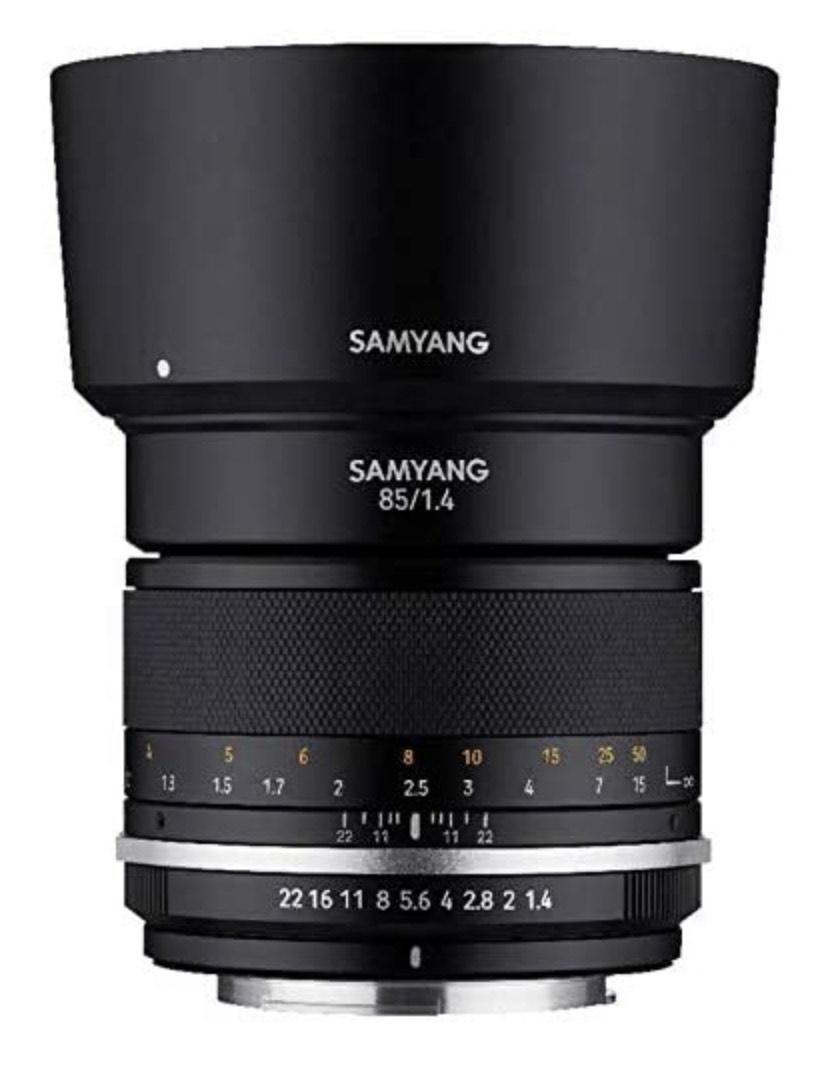 [Amazon] Samyang MF 85mm F1,4 MK2 Canon M APS-C Festbrennweite