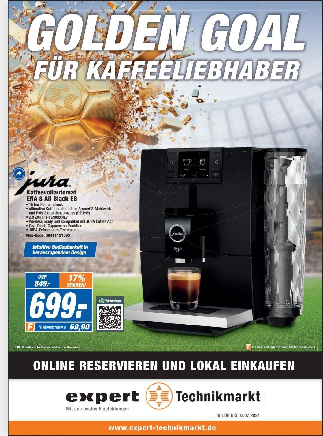 (Lokal Flensburg) Jura ENA 8 All Black EB