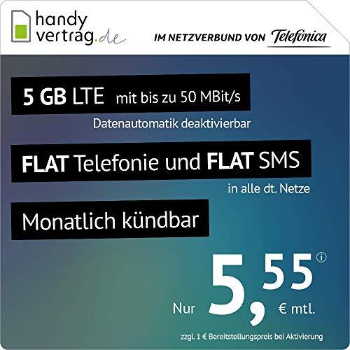 Amazon: Drillisch 5GB Allnet für 5,55€/M (monatlich kündbar) + 5,43€ AG im Telefonica Netz
