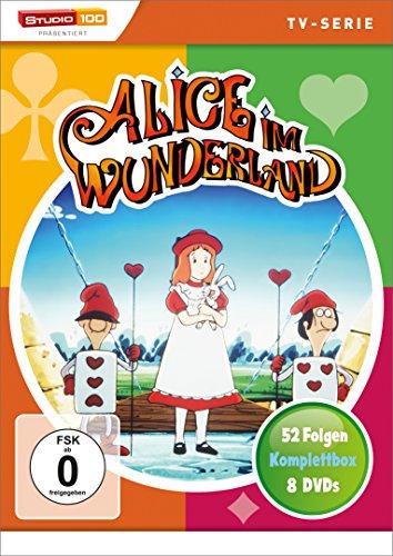 [Amazon Prime] Alice im Wunderland (Original TV-Zeichentrickserie) - Die komplette Serie (8 DVDs) für € 14,97