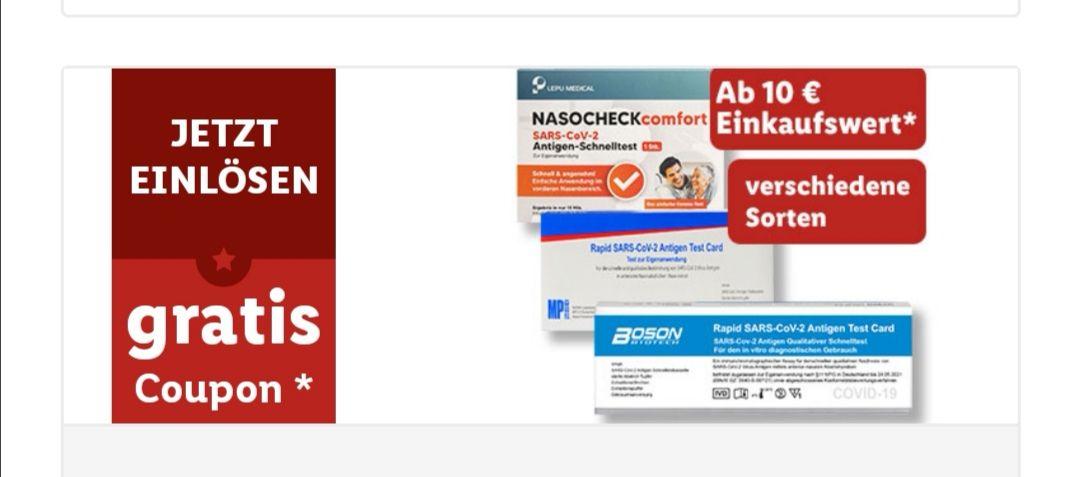 Kostenloser Antigenschnelltest in der Lidl App