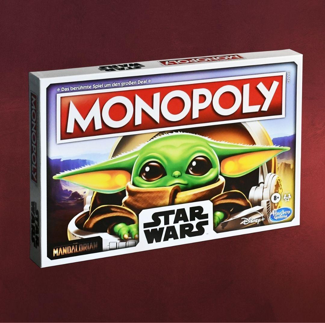 50% Rabatt ab 50€ MBW auf ausgewählte Artikel z.b. Star Wars The Mandalorian Monopoly The Child Edition, Dragonball, One Piece