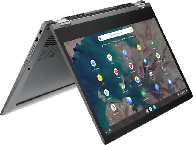 "Lenovo IdeaPad Flex 5 13 Chromebook (13.3"" FHD IPS 300cd/m², Touch Convertible, i3-10110U, 8GB RAM, 128GB SSD, bel. Tastatur, ChromeOS)"