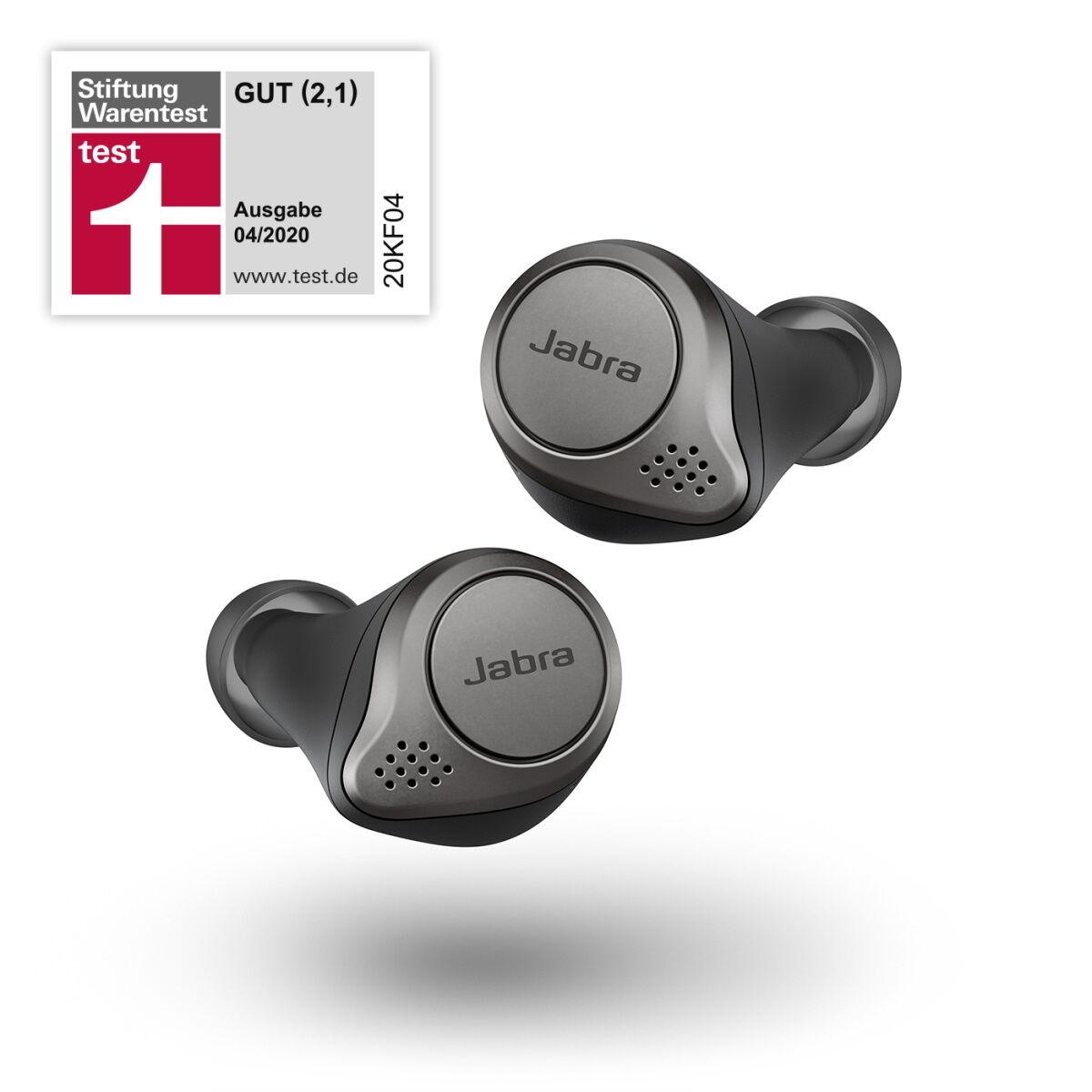 NBB Jabra Summer Sale: Jabra Elite 75t TWS In-Ears mit ANC - 94,02€ | Elite Active 75t - 118,94€ | Elite 45h Bluetooth-Kopfhörer - 52,32