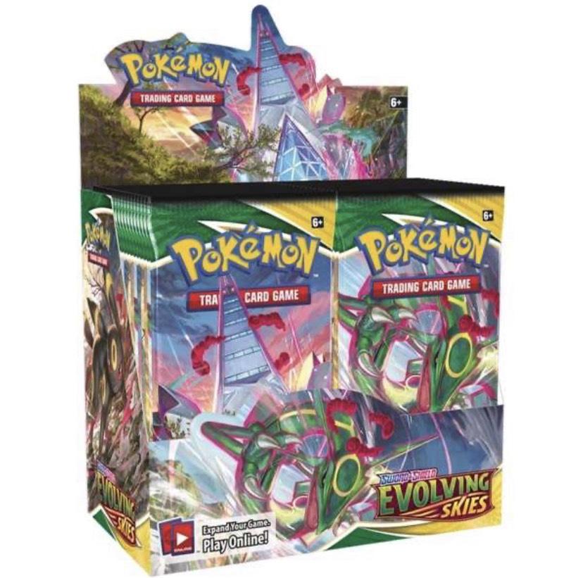 Pokémon Evolving Skies PreOrder Case / Display Bestpreis