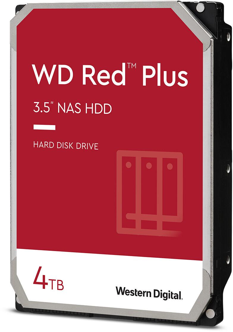Western Digital WD Red Plus 4TB SATA 6Gb/s (WD40EFZX) für 86€ inkl. Versandkosten