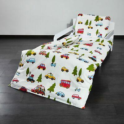 Lumaland Baby- und Kinderbettwäsche versch. Motive & Größen ( 100 % Baumwolle, Oeko-Tex, Reißverschluss) [eBay]
