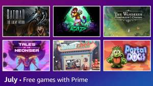 [Prime Gaming] The Wanderer: Frankenstein's Creature, Batman: The Enemy Within -The Telltale Series, Rad, Automachef & Portal Dogs