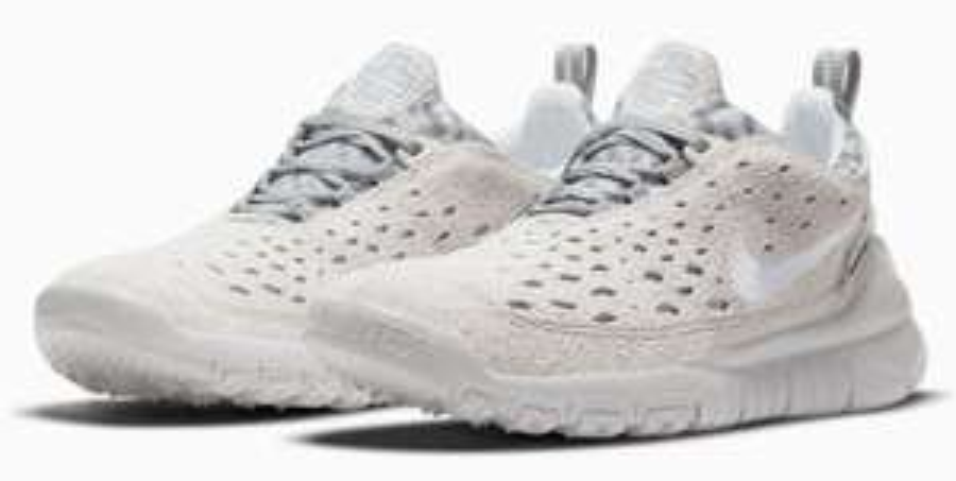 Nike Free Run Trail Sneaker Unisex Weiß