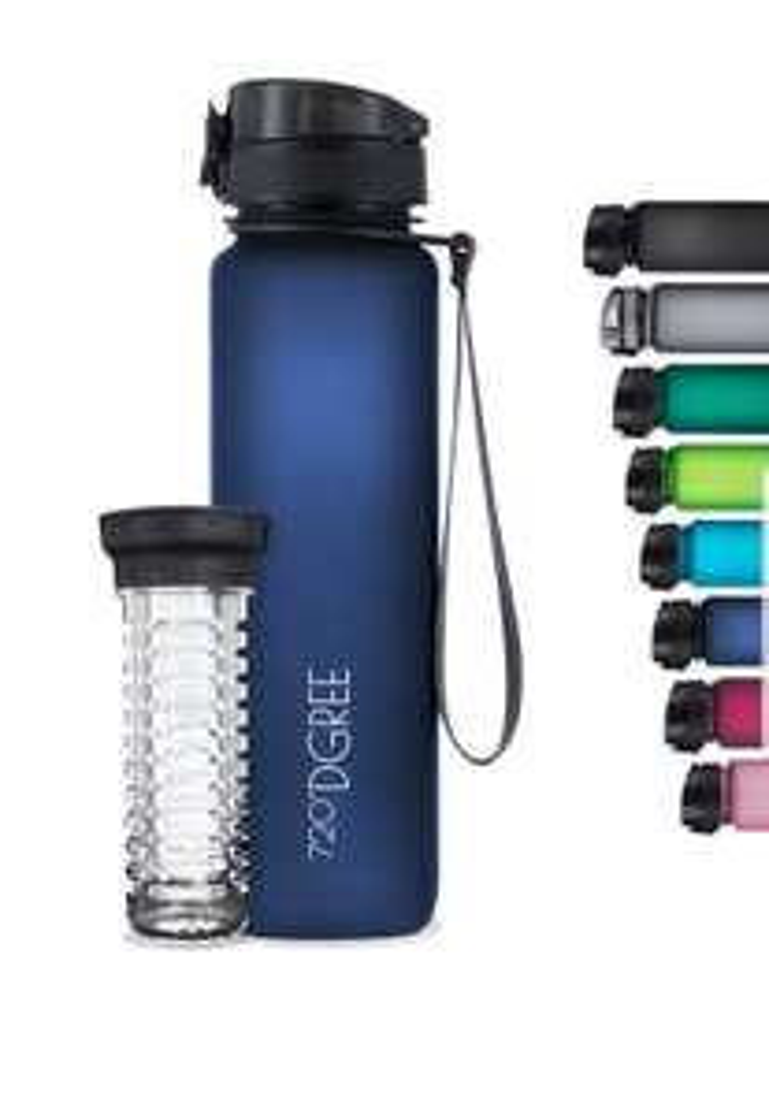 720° DGREE Trinkflasche in Sapphire Blue 1000ml