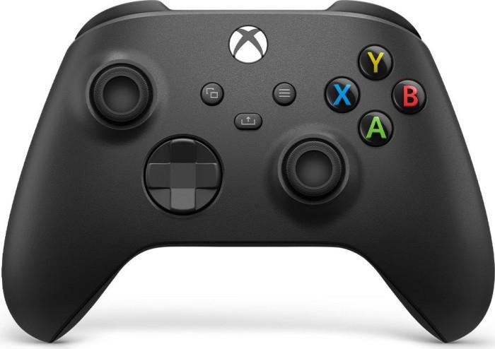 Microsoft Xbox Series X Wireless Controller carbon black (QAT-00002) + Füllartikel