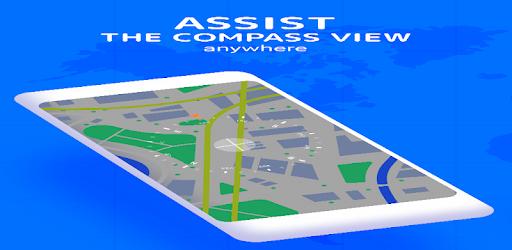 [google play store] Fake GPS location Joystick - Location Changer | Compass Pro: GPS Coordinates - GPS Navigation