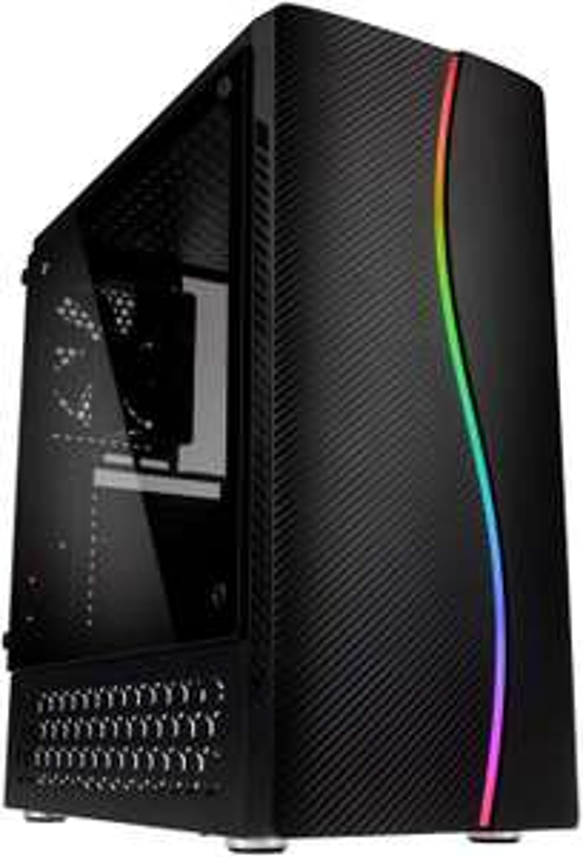 Kolink Inspire K5 ARGB schwarz, Tempered Glass
