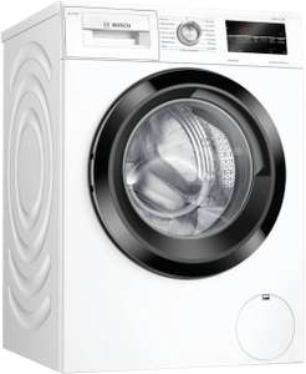 Bosch WAU 28 SIDOS Waschmaschine (9kg, 1400 U/Min., A+++/C, Nachlegefunktion, AquaStop) + 5 Flaschen Persil Green Power (je 2,5L) gratis