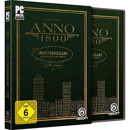 Anno 1800 Investorausgabe (PC UPlay - Code in a Box) - Grundspiel + alle 3 Season-Pässe