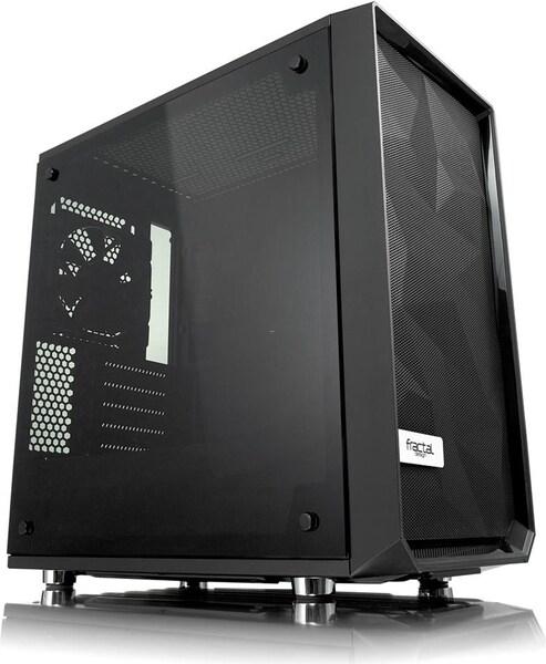Fractal Design Meshify C Mini Blackout TG