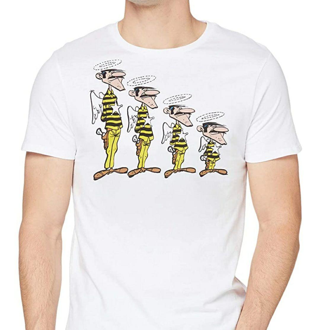 [Amazon Prime] Lucky Luke Dalton Brüder T-Shirt in Größe L für 7,12€, 100% Baumwolle, Lizenzprodukt