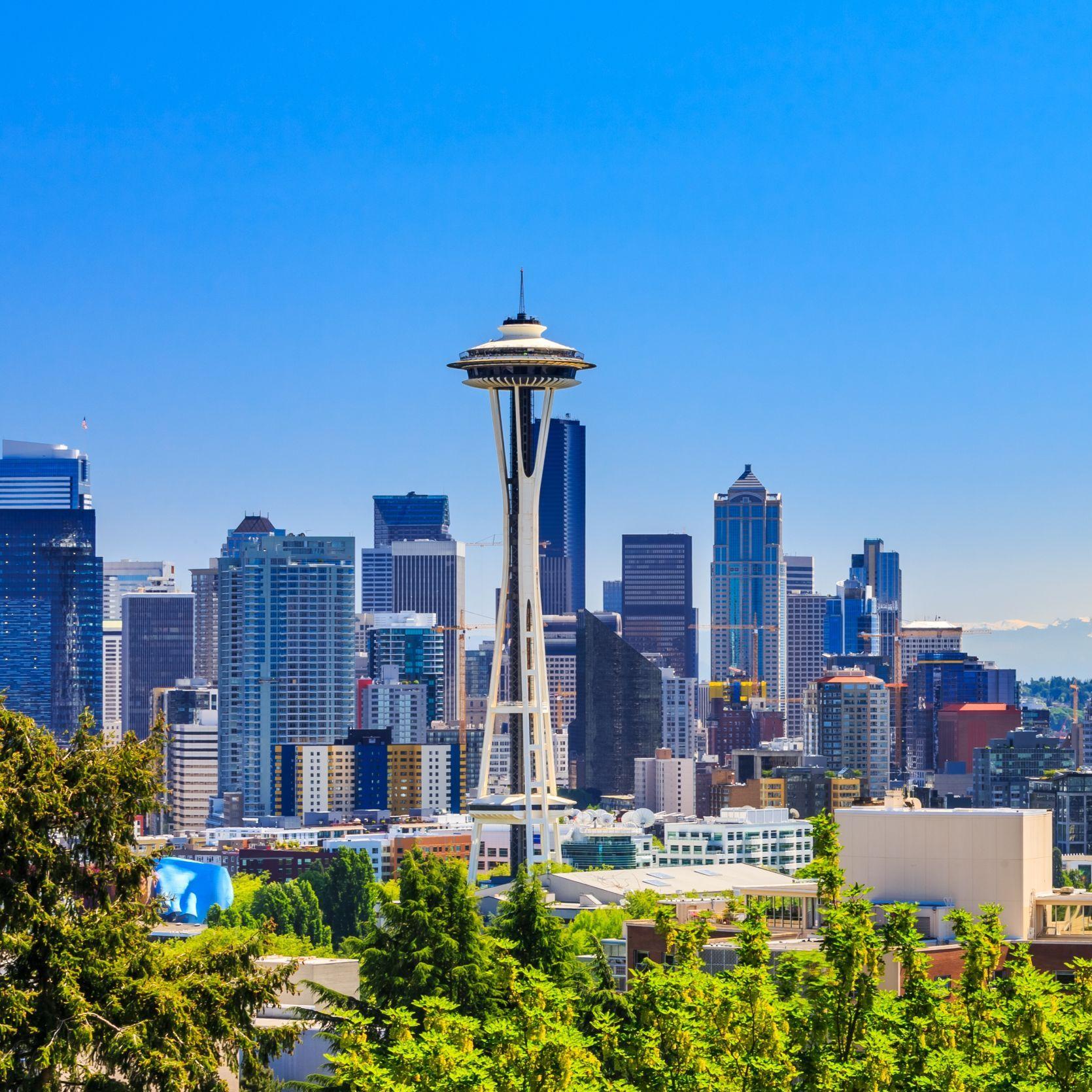 Flüge: Seattle, USA [bis Mai 2022] Hin- & Rückflug ab Amsterdam mit American Airlines ab 218€