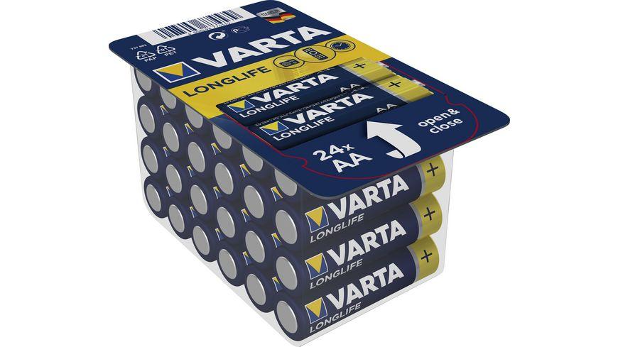 [Müller Lokal] VARTA Longlife 24er Pack   4er VARTA Energy für 0,95€