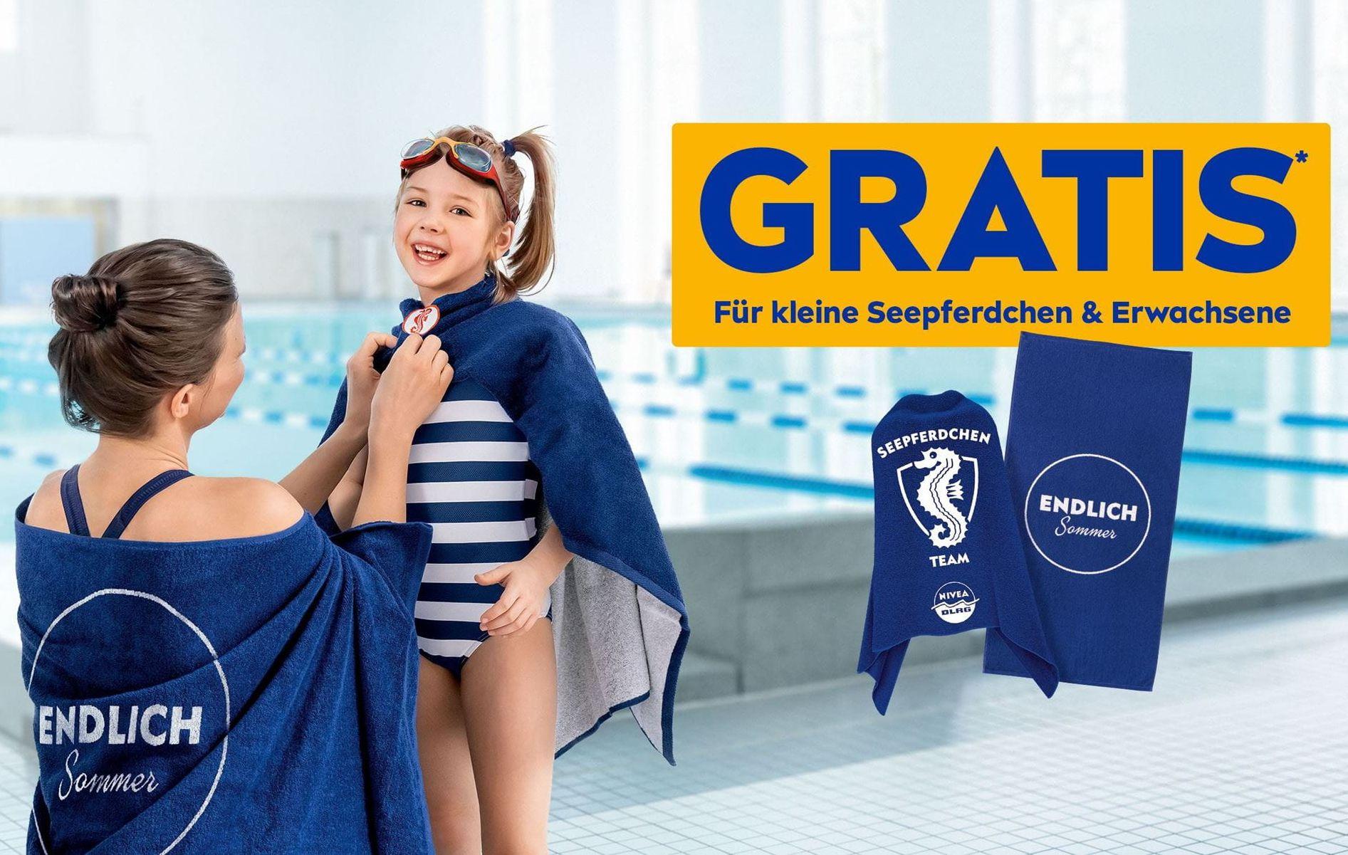 Nivea: Gratis Badetuch beim Kauf von Produkten für mind. €9 (vom 5.7. - 1.8.2021)
