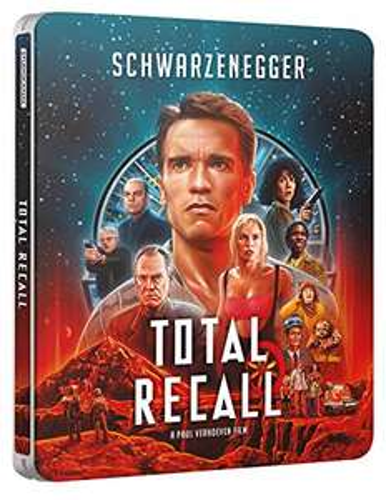 Total Recall - Uncut - Limited Steelbook Edition (4K Blu-ray + Blu-ray) für 16,53€ (Amazon UK)