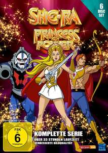 She-Ra, Princess of Power, Die komplette Serie [6 Disc Set], Masters of the Universe, kostenloser Versand mit Prime