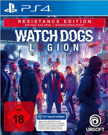 Watch Dogs Legion Resistance Edition (PS4 & PS5 & Xbox Series X/One) für 19,99€ bei GameStop Filialen