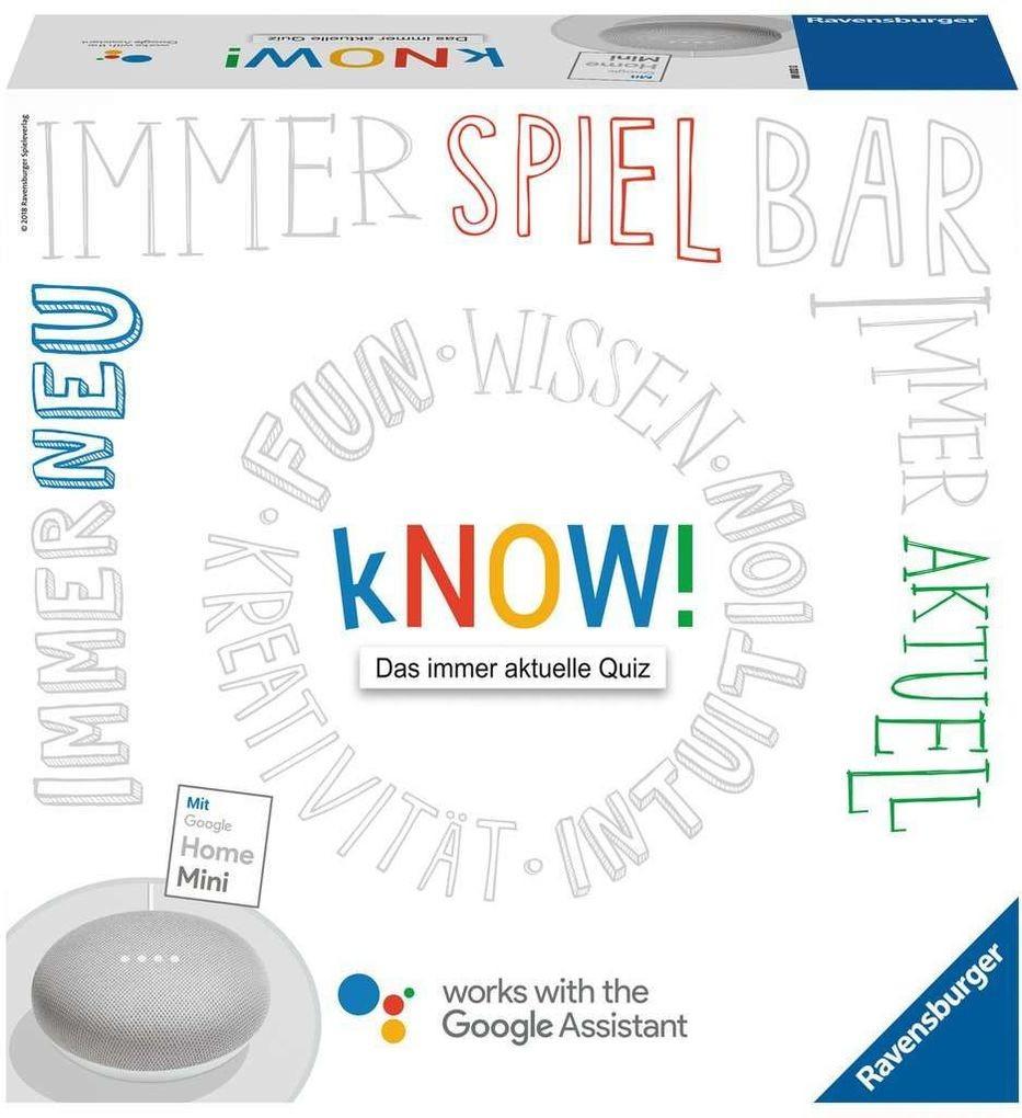 Ravensburger Spiel - kNOW! mit Google Home Mini