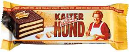 [amazon Prime] Oma Hartmann's KALTER HUND Kekse mit Kakaocrémefüllung, 175 g