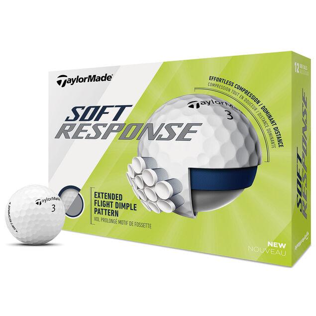 TaylorMade Soft Response Golfbälle - 3 Dutzend