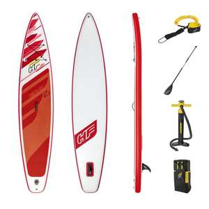 Bestway Hydro-Force Fastblast Tech 12,6 Touring SUP