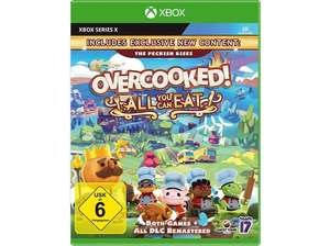Overcooked! All You Can Eat - Ps5 oder [Xbox Series X S] (Saturn / Media Markt Abholung oder Amazon Prime)