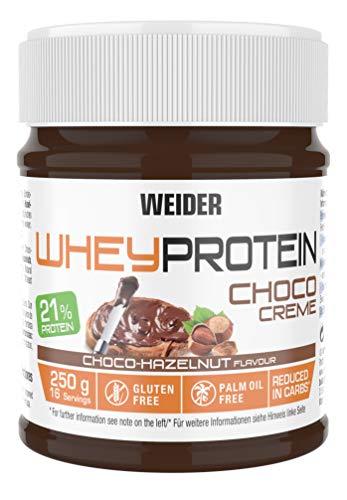 Amazon Prime: Weider Whey Protein Choco Haselnusscreme im 250 Gramm Glas , 22 % Proteingehalt