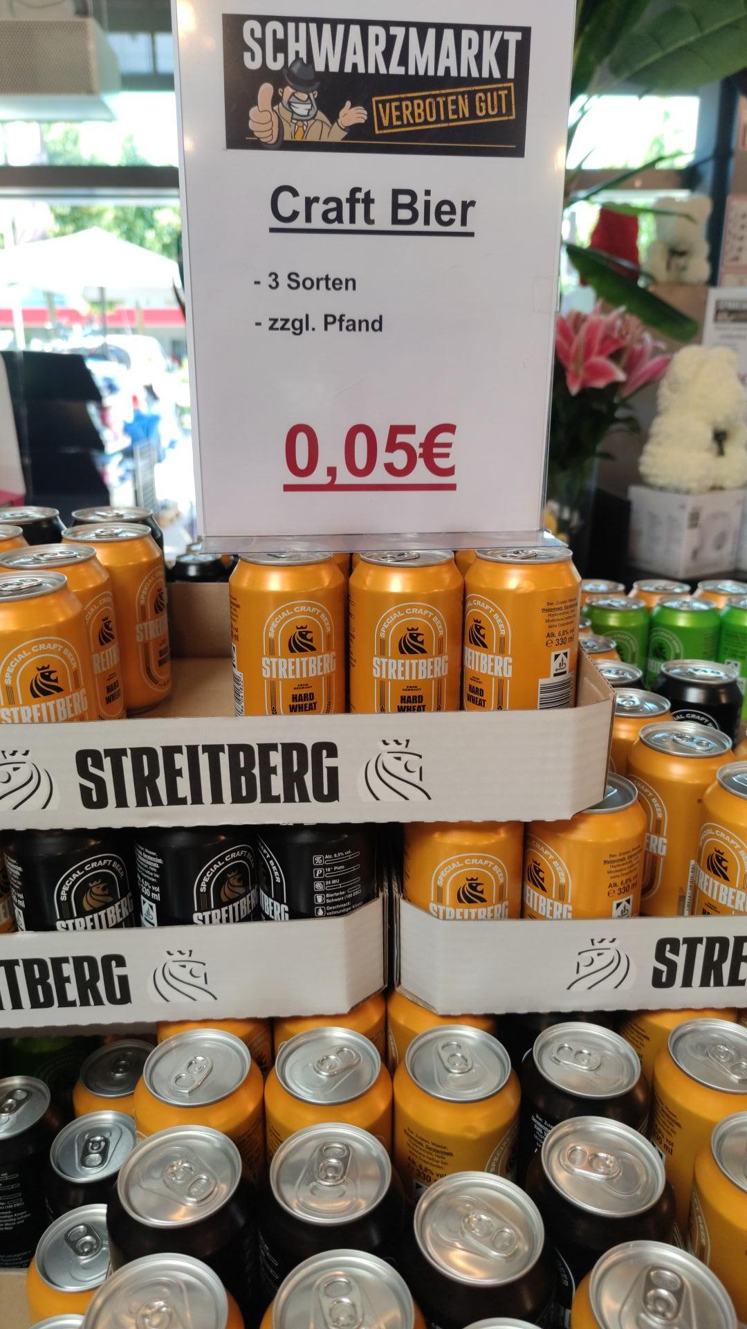 """Lokal - Streitberg """"craftbiere"""" bei Schwarzmarkt Ingolstadt"""