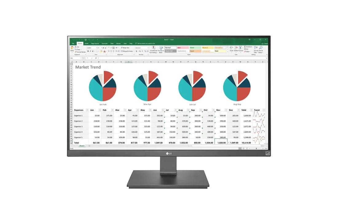 """LG 27"""" 4K IPS-Monitor mit USB-C & Hub"""
