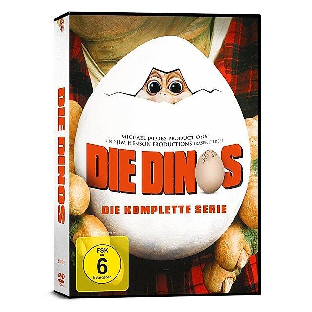 Die Dinos - Die komplette Serie 9 DVDs